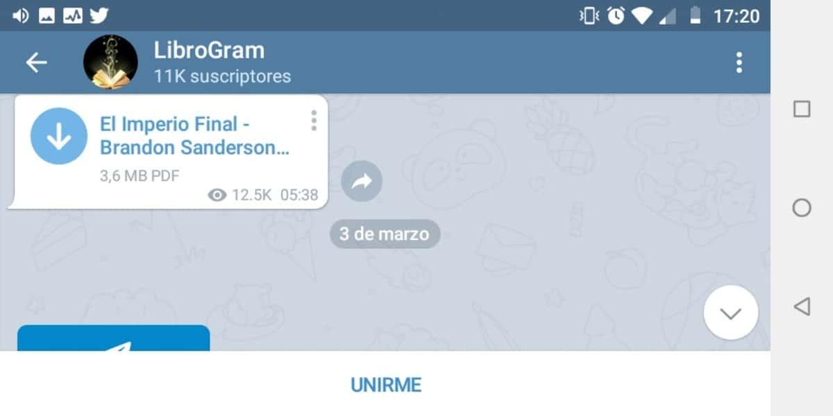 Bot de Telegram para descargar libros
