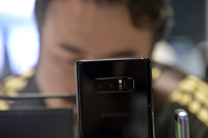 Cámara del Samsung Galaxy Note
