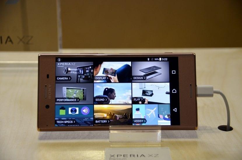 Pantalla del Sony™ Xperia™ XZ Premium
