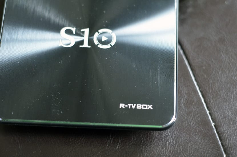 Logotipo del Android Box R-TV Box S10