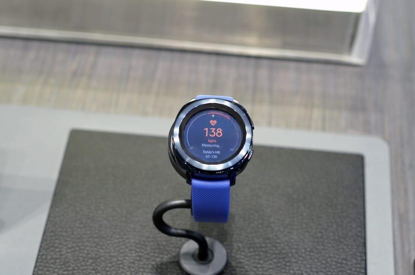 Samsung Gear Sport de frente