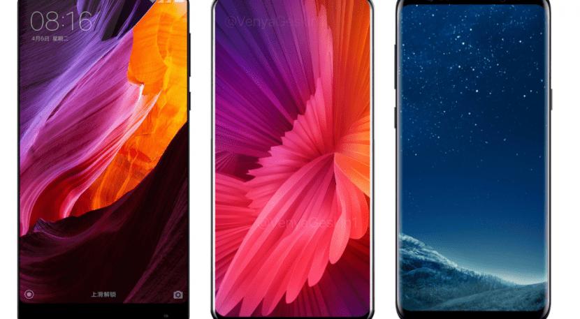 Xiaomi Mi MIX 2 vs Galaxy S8