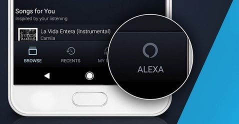 La app de Amazon Music agrega soporte para Alexa