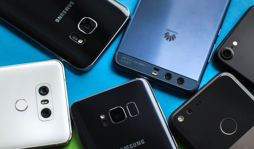 catálogo smartphone