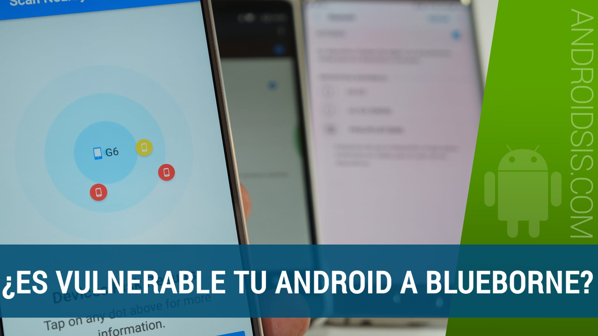 Blueborne comprobar vulnerabilidad Android