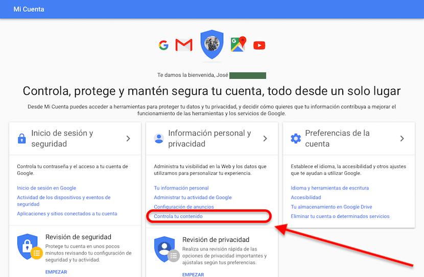 Copia de seguridad cuenta de Gmail