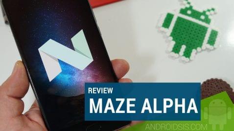 Review MAZE Alpha