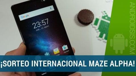Sorteo internacional MAZE Alpha