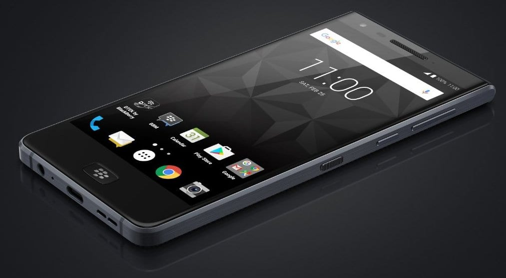 BlackBerry Motion, también conocido como BlackBerry Krypton