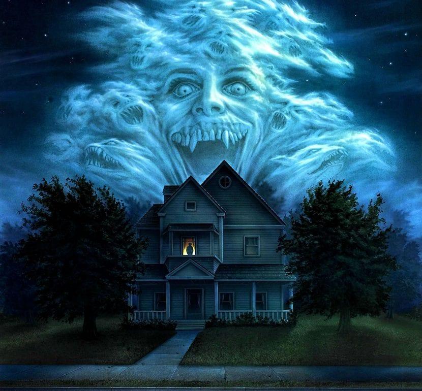 Mansión fantasma Halloween