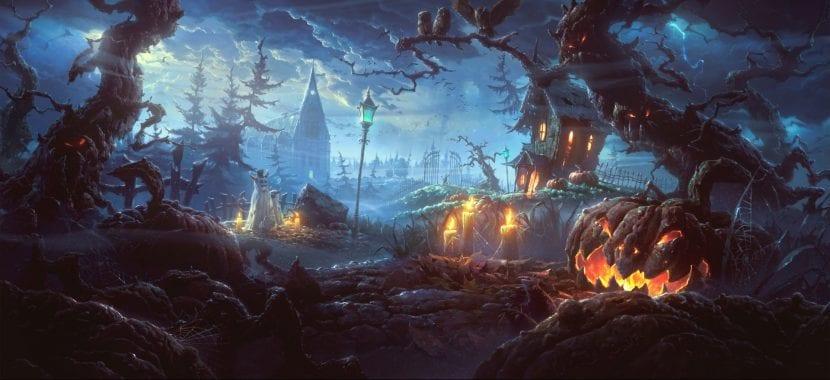 Bosque Halloween
