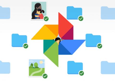 Google Fotos aplicación