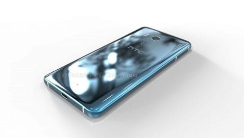 HTC U11 Plus render