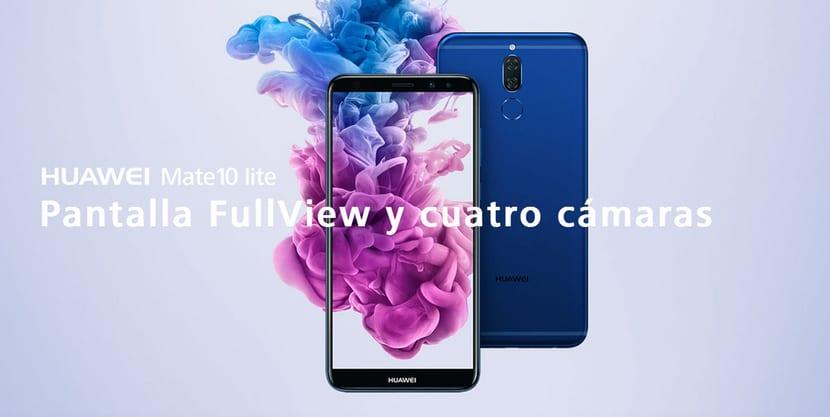Imagen oficial Huawei Mate 10 Lite