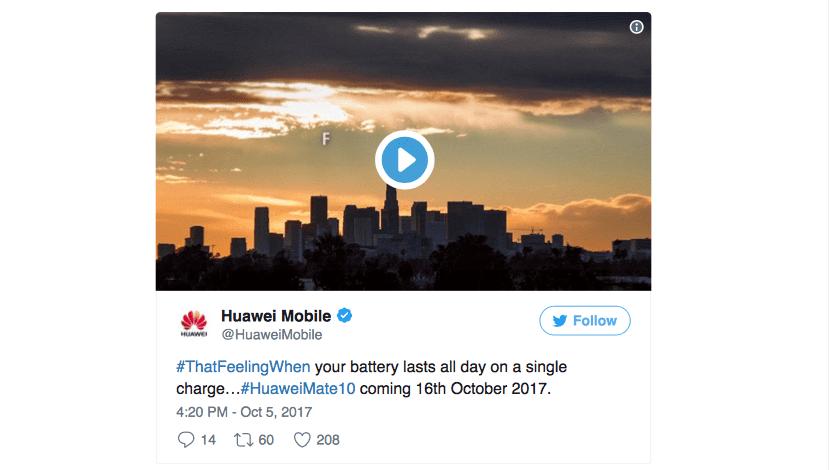 El Huawei Mate 10 llegará con una gran batería de 4000 mAh