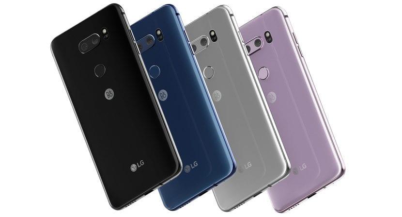 LG V30 colores disponibles