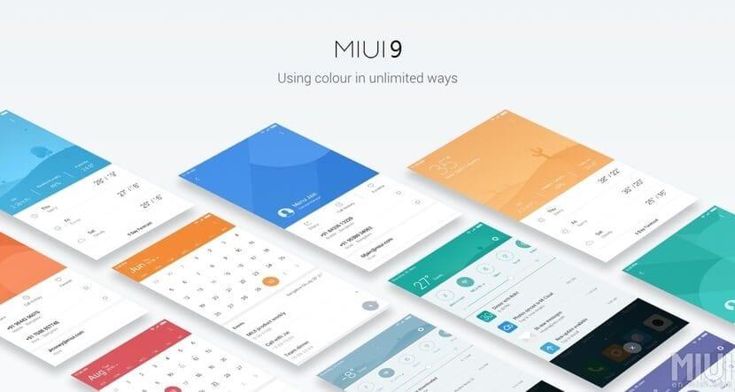 MIUI 9: Capa de personalización