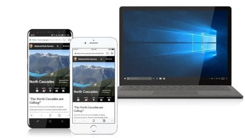Microsoft Edge para iPhone y Android