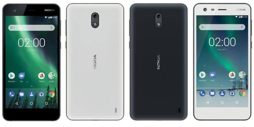 Nokia 2 diseño