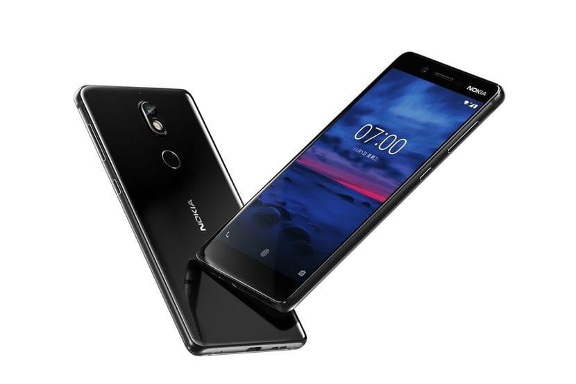 Imagen oficial del Nokia 7