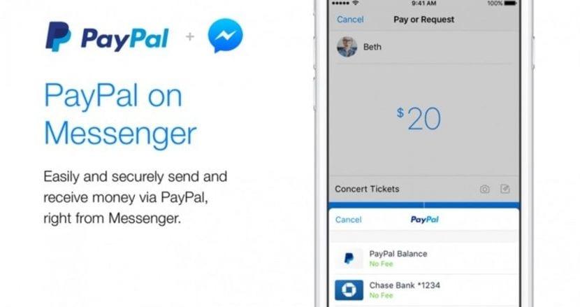 Pagos PayPal en Facebook Messenger