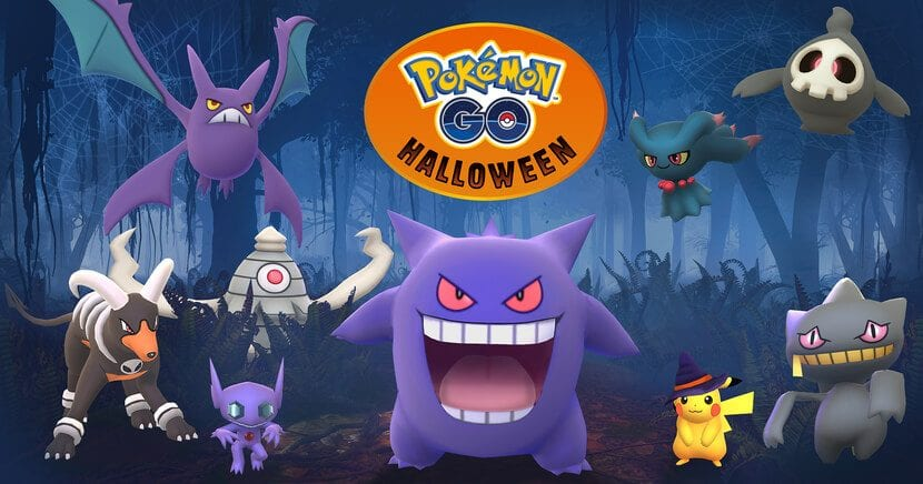 Evento Halloween Pokémon GO