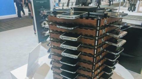 Samsung Galaxy S5 - Clúster para minado de Bitcoins