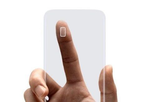 Samsung lector de huellas