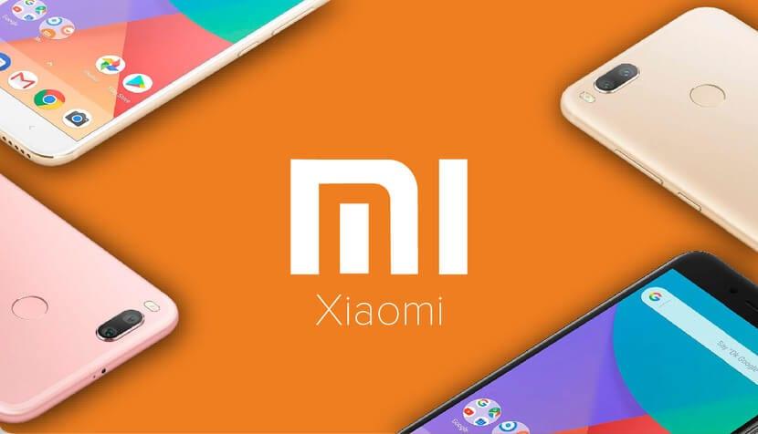 Xiaomi Logo y smartphones