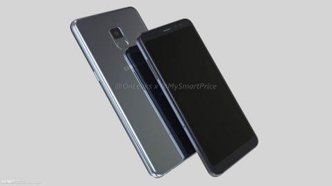 Render Galaxy A7 2018