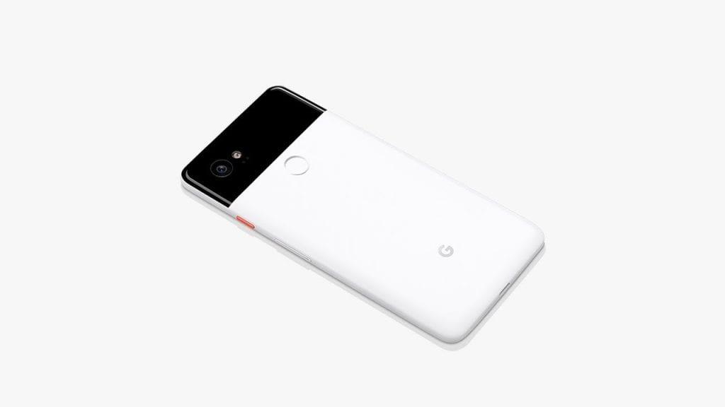 Google Pixel 2 - Parte trasera