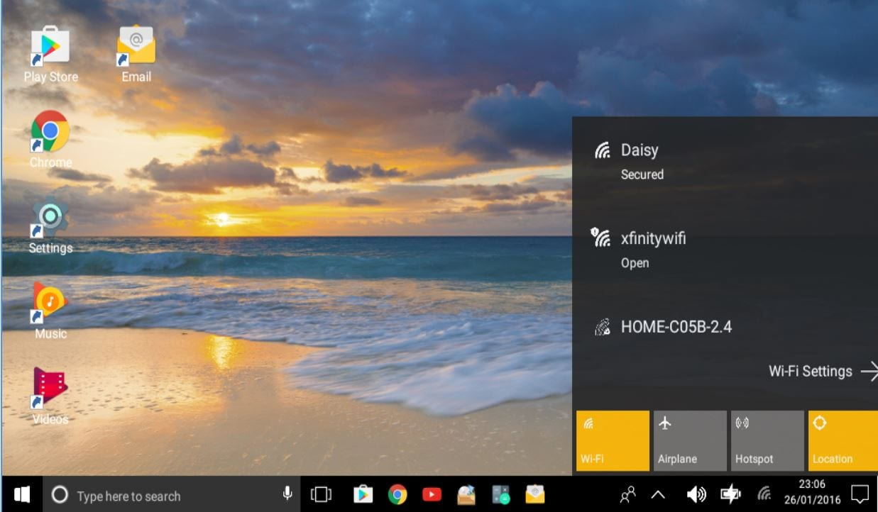 Launcher estilo Windows 10 para Tablets Android