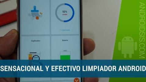 Aplicación de limpieza Android