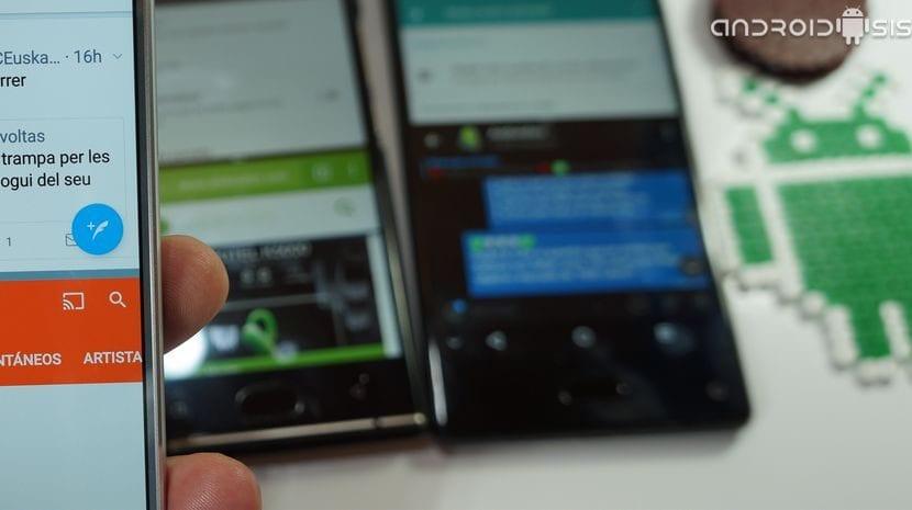 Cómo habilitar la pantalla dividida en Android Nougat. 7.0 y +