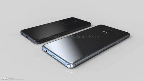 Galaxy A7 2018 renders