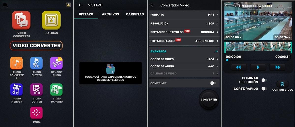 App Video Convertidor Compressor para Android. para nosotros el mejor conversor de vídeo
