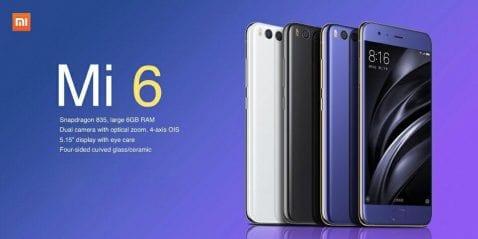 ¡¡Hazte con un Xiaomi Mi6 a un precio increíble!!