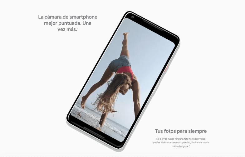 Google Pixel 2 XL, especificaciones técnicas y precio