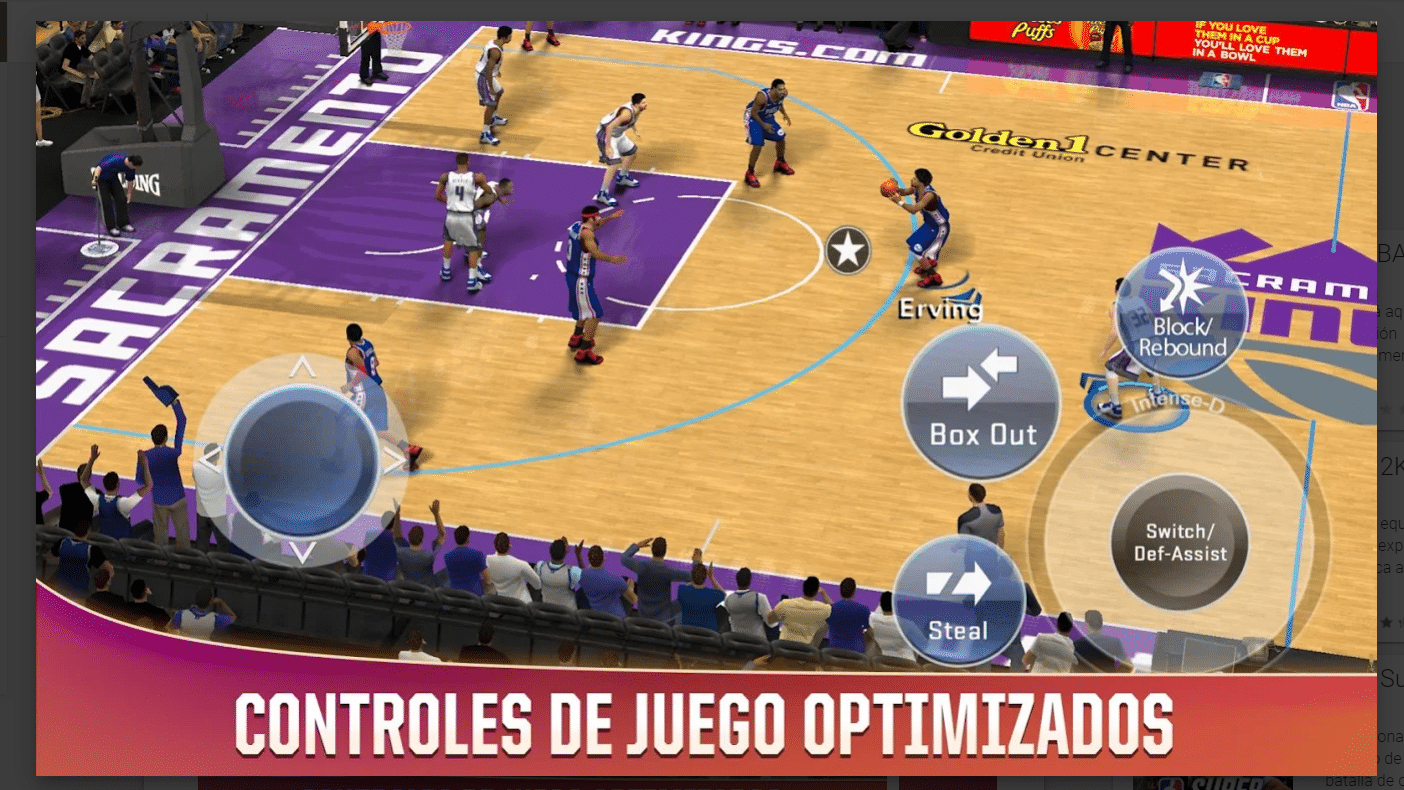2k20 baloncesto android
