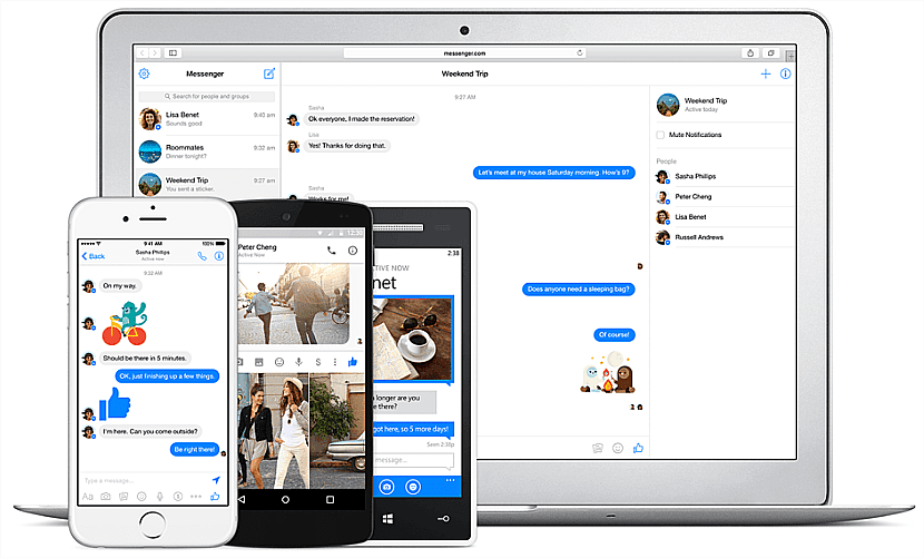 Facebook Messenger es la app ideal para chatear