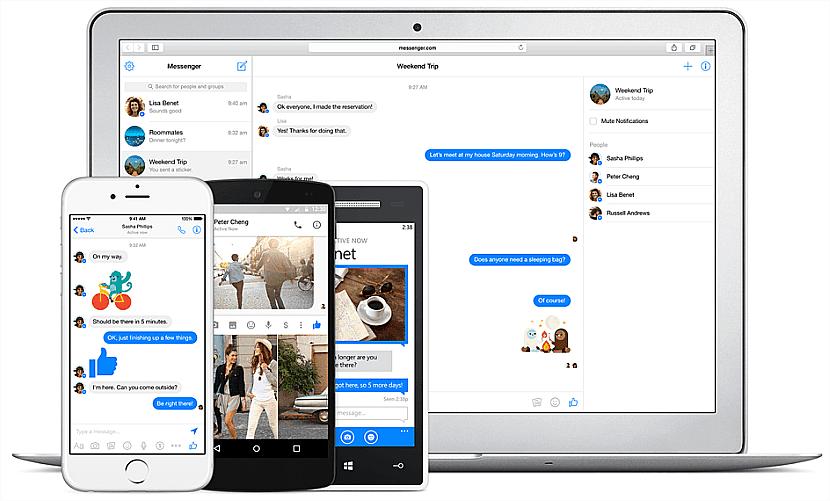 Facebook Messenger es la app ideal para chatear