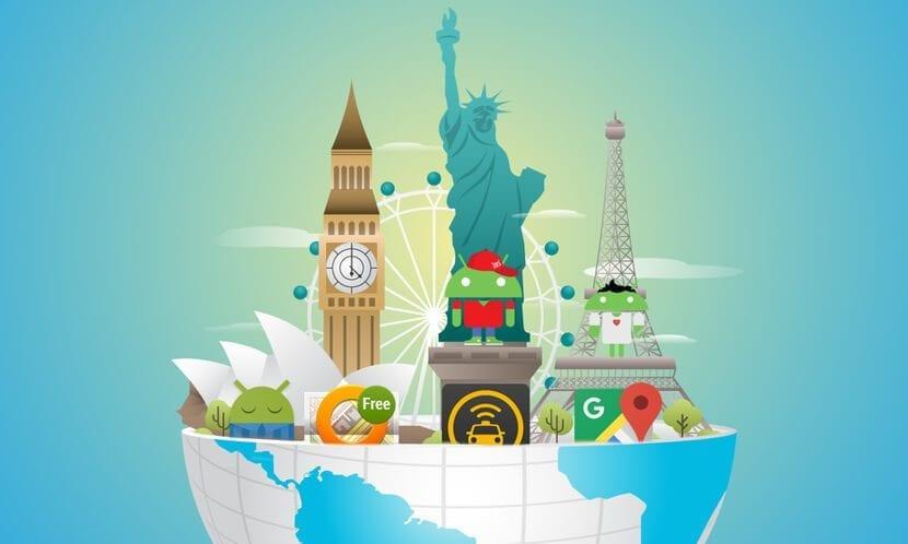 Aplicaciones para viajes