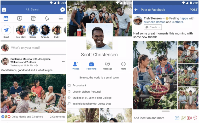 Facebook, la app de Mark Zuckerberg