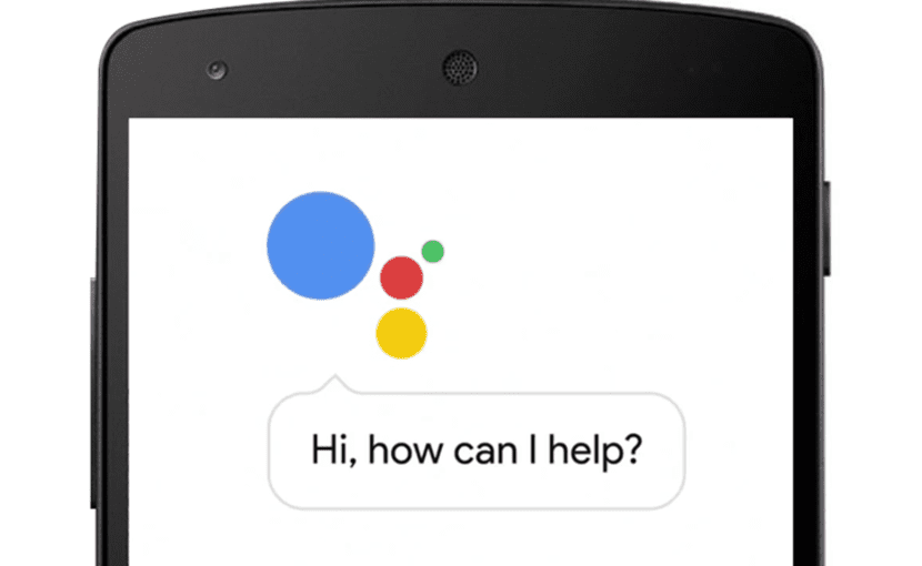 Teléfono con asistente de Google