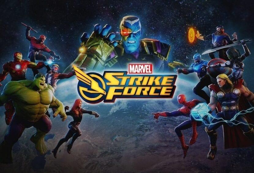 Imagen oficial Marvel Strike Force