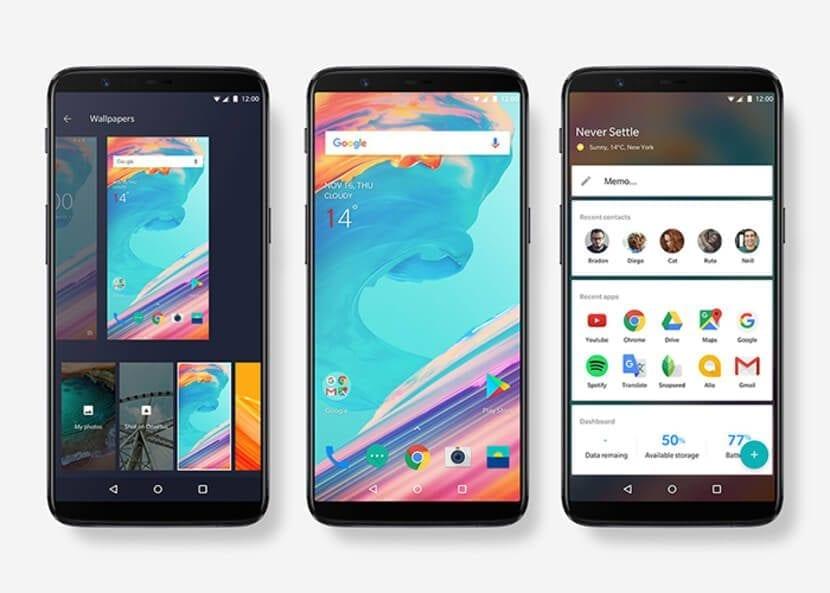 Imagen oficial OnePlus 5T