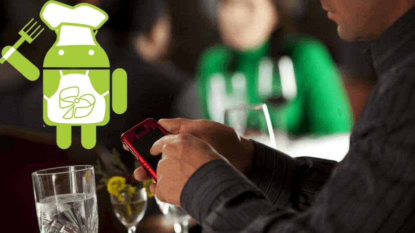 Aplicaciones restaurante Android
