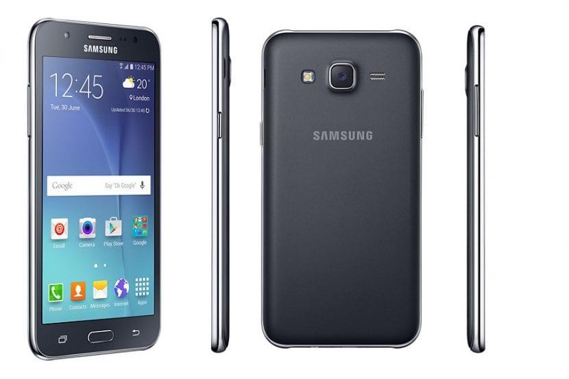 Apariencia del Samsung Galaxy J5 2016