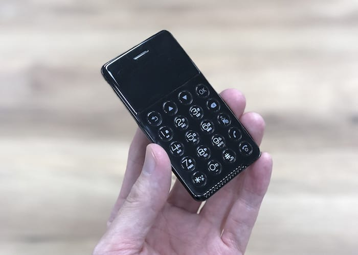 NichePhone-S. El teléfono más pequeño del mundo