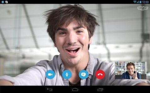Videollamada en Skype